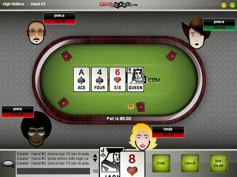 free online poker with friends